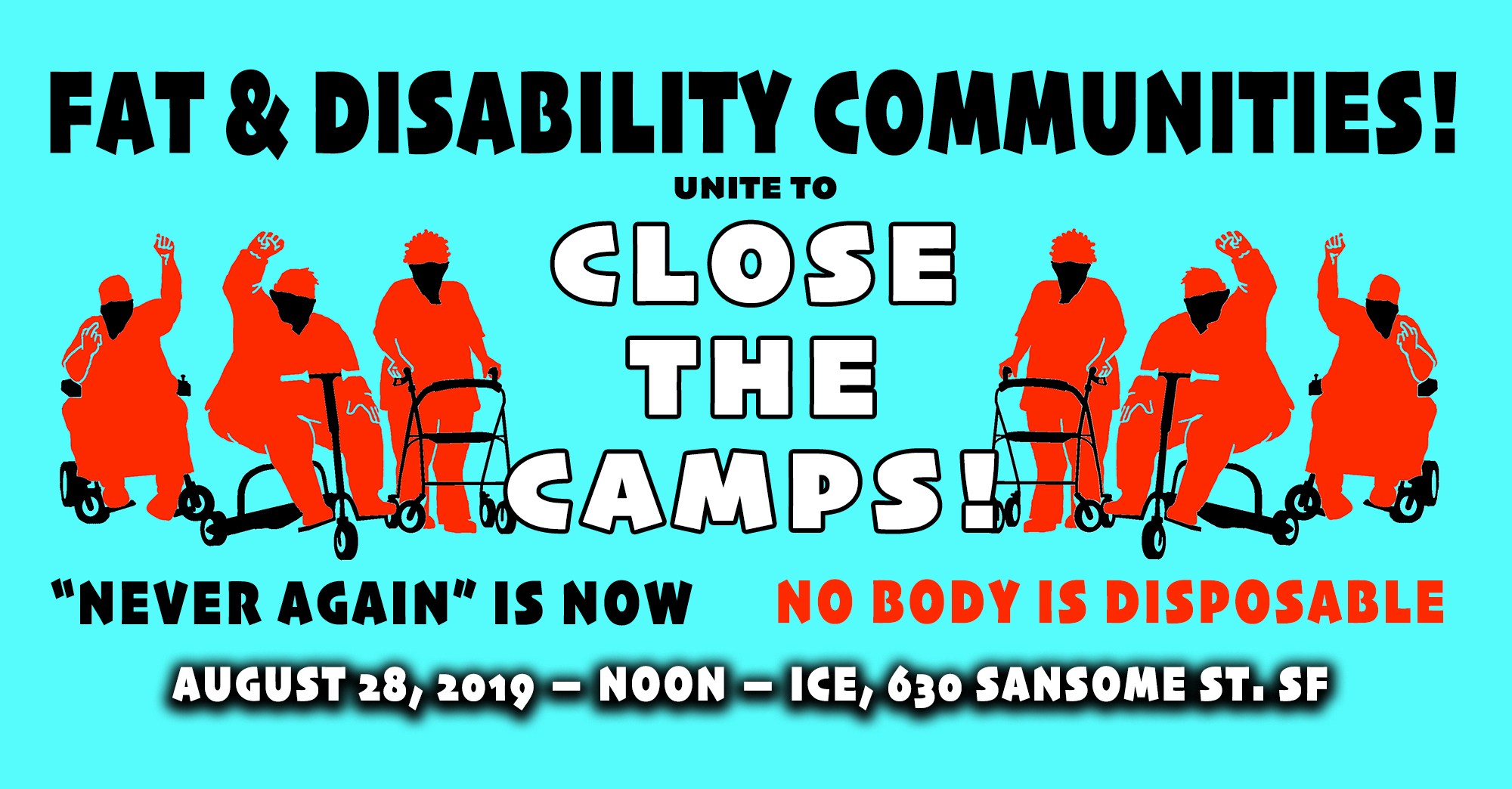 CLOSE THE CAMPS!