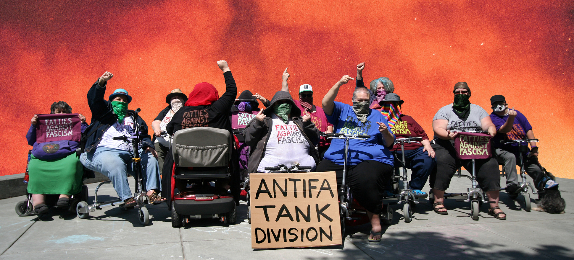 Fatties Against Fascism Rise Up to Close The Camps