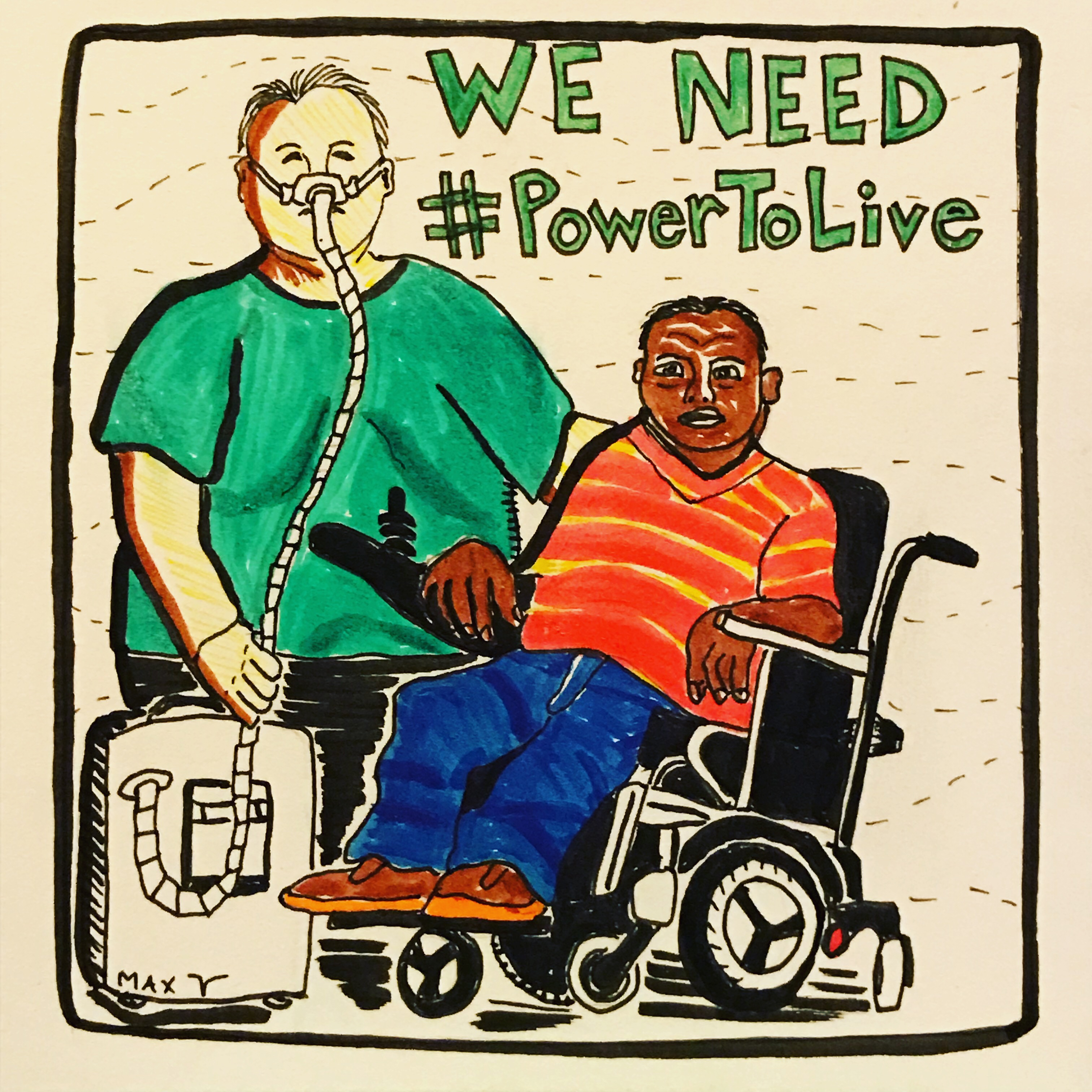 We (still) Need #PowerToLive