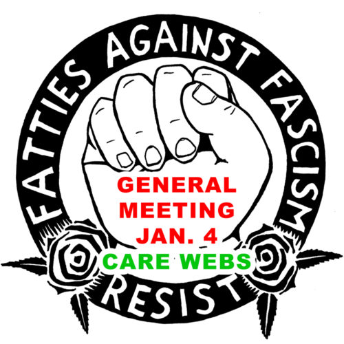 Gen. Mtg. Jan 4: Care Webs