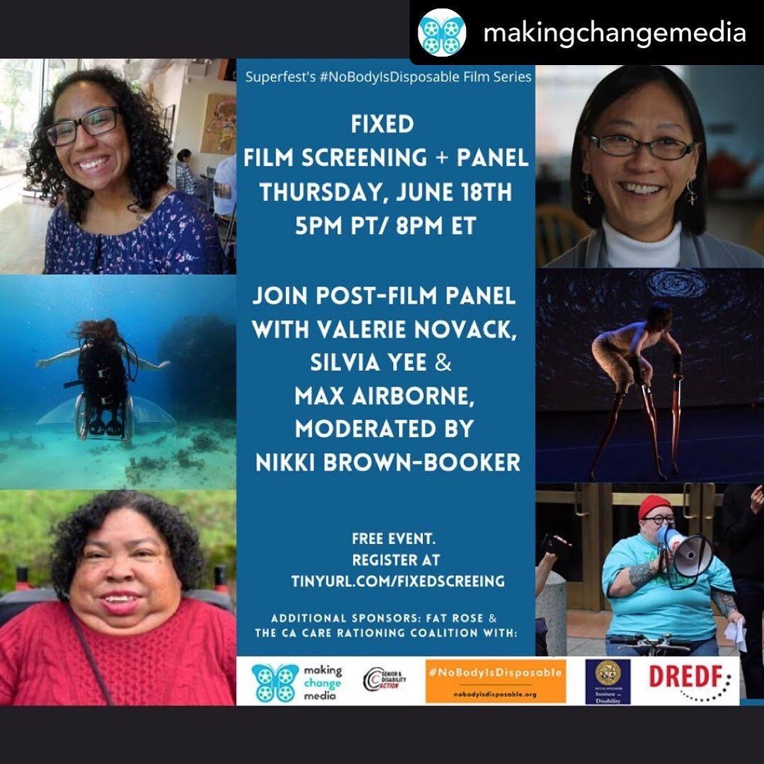 #NoBodyIsDisposable: Film Screening & Panel